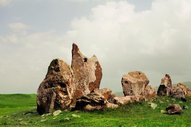 Фотообои камни ландшафт пейзаж (nature-00507)