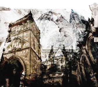 Фотообои Архитектура Чехия (printmaking-0000020)