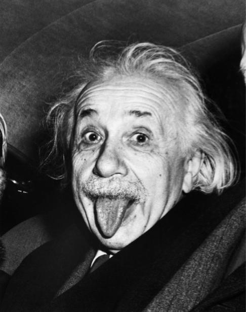 Фотообои Эйнштейн (retro-vintage-0000016)