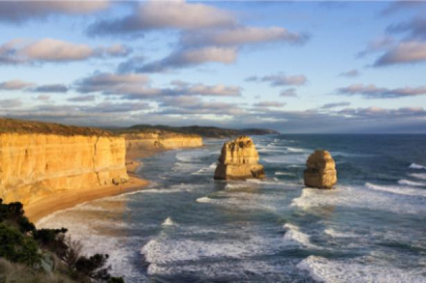 Фотообои скалистый берег моря ветар (sea-0000133)