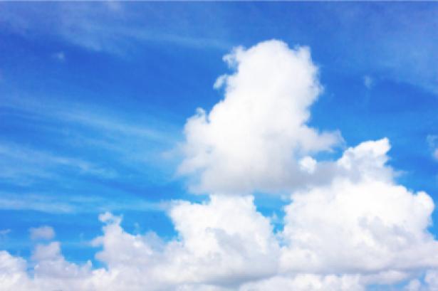 Фотообои облака как пух на небе (sky-0000060)