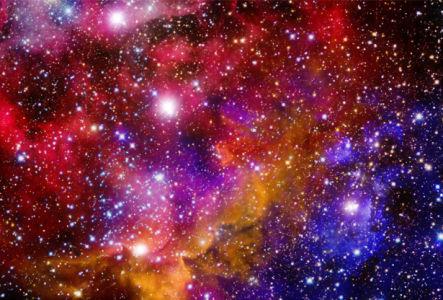 Фотообои галактическая туманность (space-0000040)