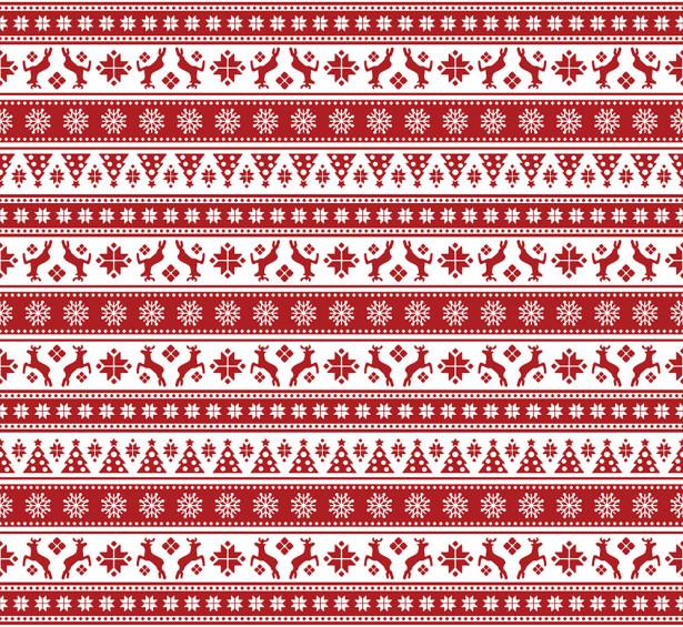 Скатерть Рождественские олени (0136)