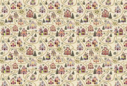 Скатерть Сельские домики (203)