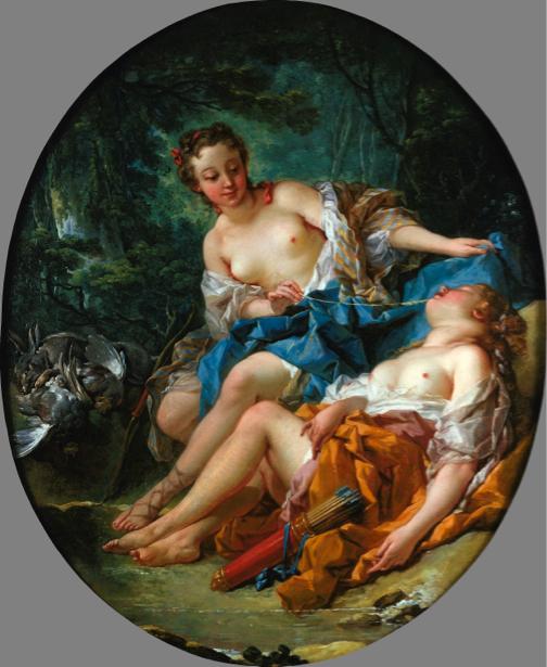 Франсуа Буше, жанровая композиция (art-0000127)