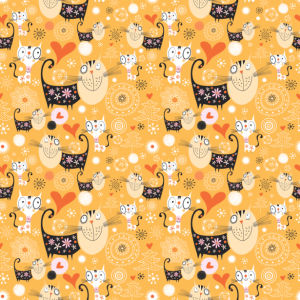 Фотошторы веселые котята (children-curtain-00003)