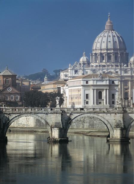 Фотообои Ватикан мост Умберто (city-0000042)