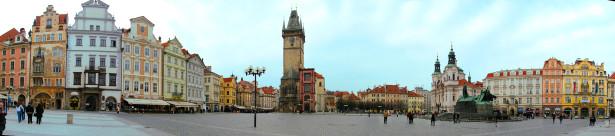 Фотообои площадь Чехии (city-0000281)