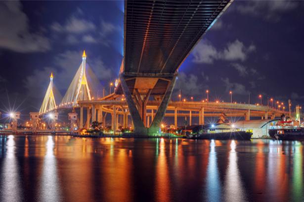 Фотообои Таиланд Бангкок, мост (city-0000447)
