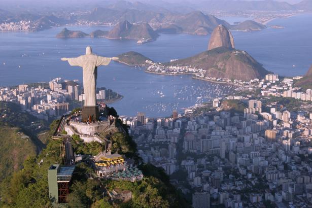 Фотообои Бразилия, статуя Христа (city-0000648)