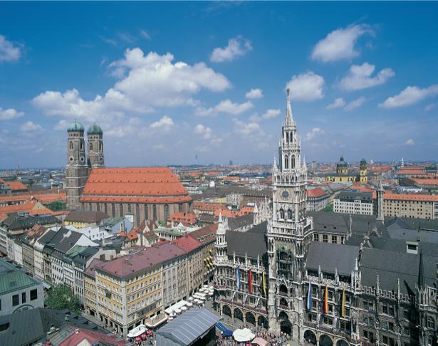 Фотообои Мариенплац Мюнхен (city-0000978)