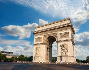 Фотообои Триумфальная арка эмблема Парижа (city-0001314)