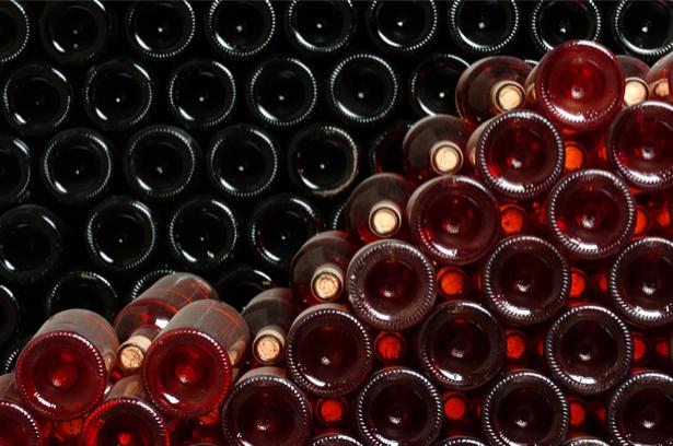 Винный погреб бутылки Фотообои кухня (food-0000181)