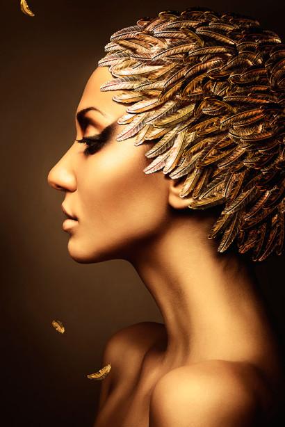 Фотообои женская таинственность (glamour-297)