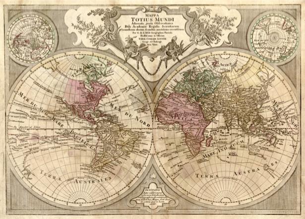 география, карты, старая карта (map-0000043)