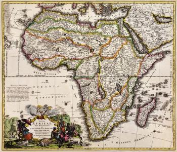 атлас, география, карты, старая карта (map-0000091)