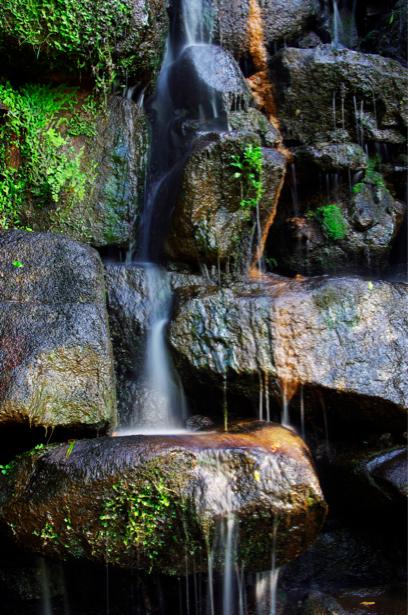 Фотообои с природой горный водопад (nature-00125)