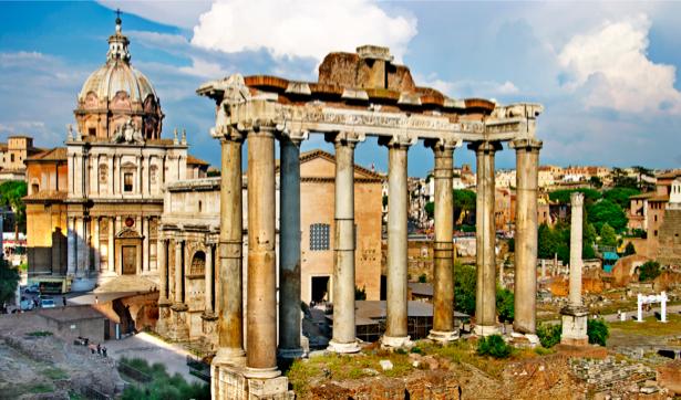 Фотообои в зал Римский форум (retro-vintage-0000144)