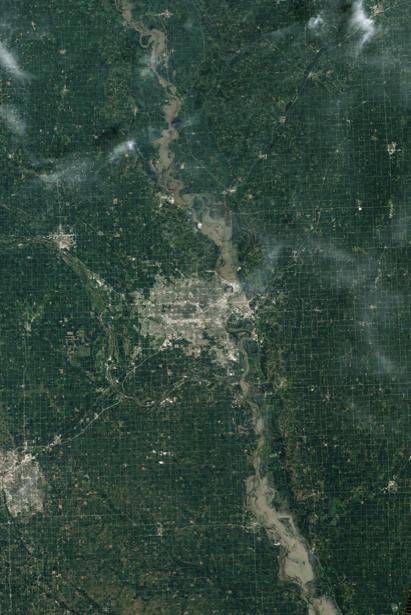 Фотообои 3д поселенье на планете земля (terra-00025)