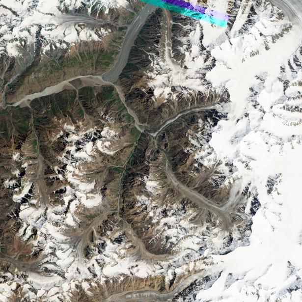Фотообои 3д горы снег (terra-00055)
