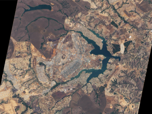 Фотообои на заказ NASA аэрофотосъемка (terra-00152)