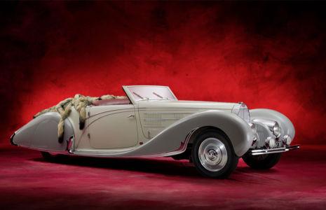 Фотообои машины Bugatti Cabriolet (transport-301)