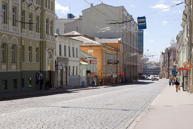 Фотообои улица Сумская в Харькове (ukr-11)