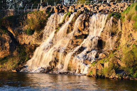 Фотообои Водопад на Монастырском острове в Днепре (ukr-71)