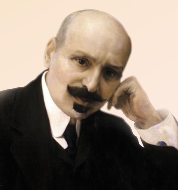 Портрет Михаила Коцюбинского (ukraine-0100)