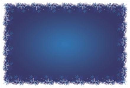 Скатерть Новогодняя снежинки (0016)
