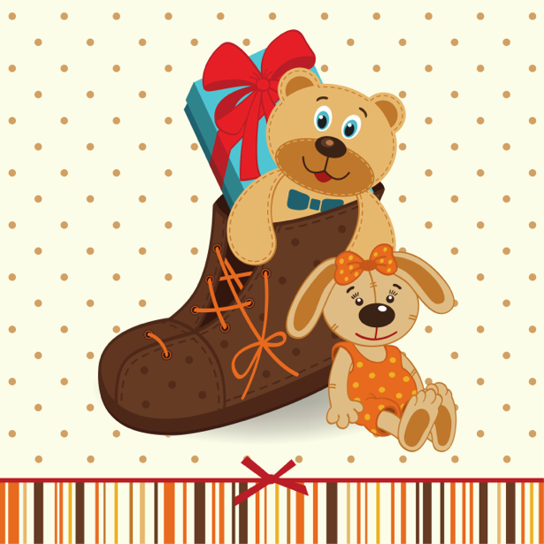 Мишка Тедди детские фотообои (children-0000301)