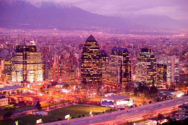 Фотообои ночной город, небоскребы (city-0000008)