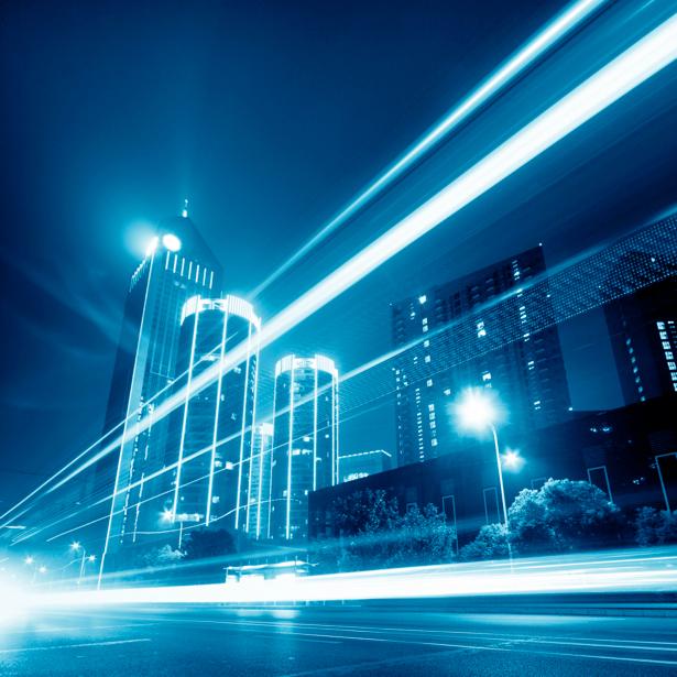 Фотообои современный, город, небоскребы, дорога, архитектура (city-0000254)