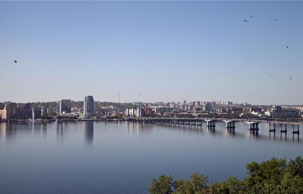 Днепропетровск Фотообои Днепр Украина (city-0000831)