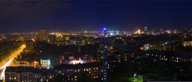 Фотообои фото Днепропетровск ноч (city-0000926)