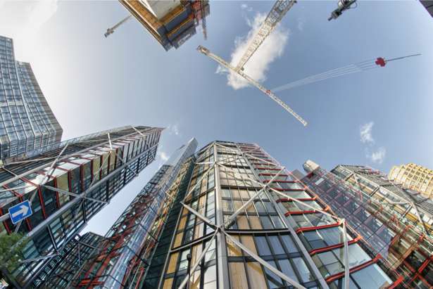 Фотообои небоскрёбы Лондон (city-0001165)