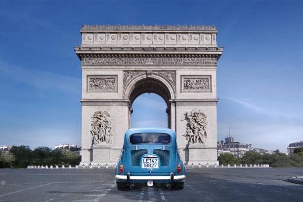 Фотообои Триумфальная арка Париж обои (city-0001309)