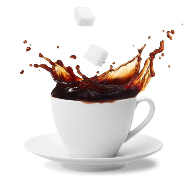 Фотообои на кухню кофе сахар чашка (food-0000116)