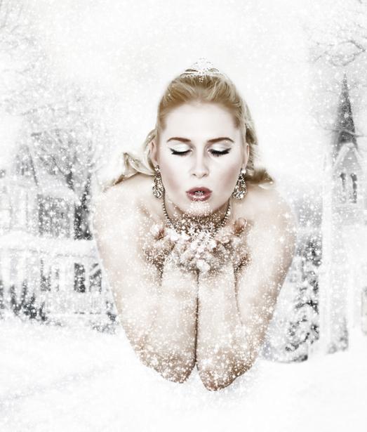 Фотообои снежная (glamour-0000134)
