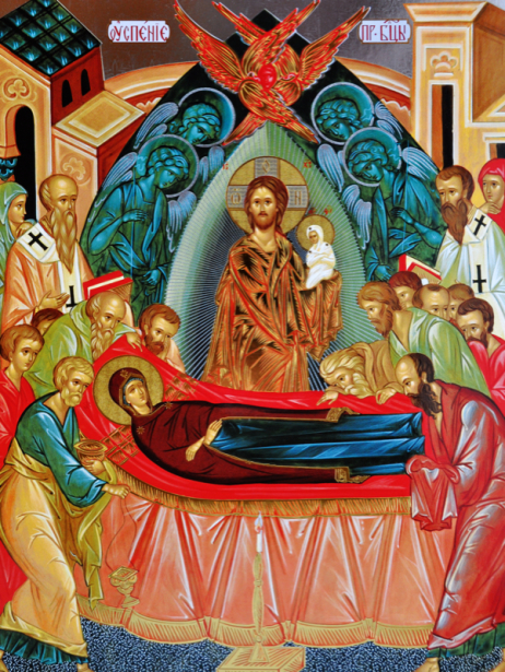 Икона Успение Пресвятой Богородицы (icon-00020)