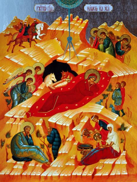 Икона Рождество Христово (icon-00031)