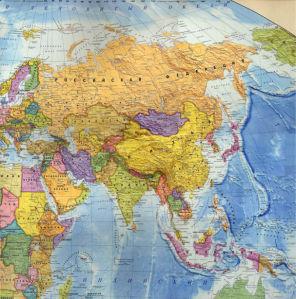 география, карты, карта, политическая, Россия, Европа (map-0000016)