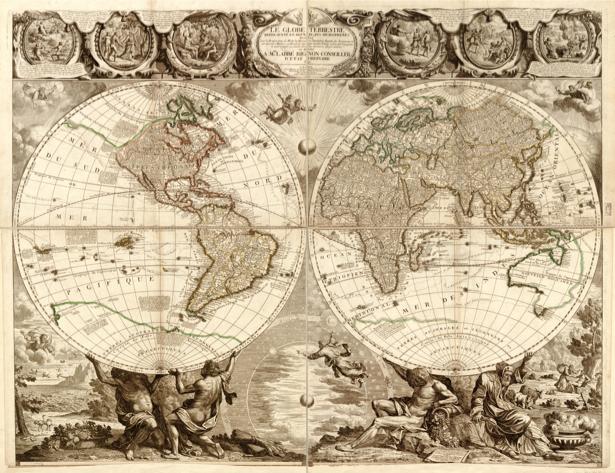 география, карты, старая карта (map-0000045)