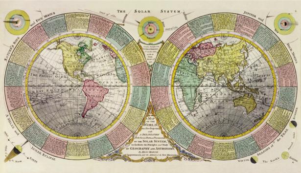 атлас, география, карты, старая карта (map-0000146)