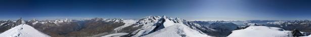 Фотообои горная панорама снежные пики (nature-00214)