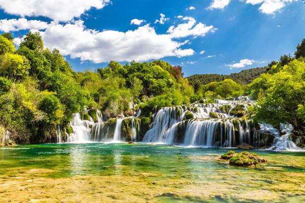 Фотообои Национальный парк Крка, Хорватия (nature-885)