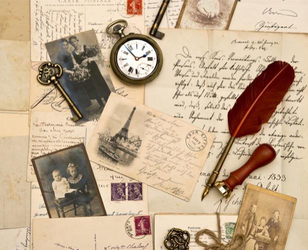 Фотообои фото письма открытки (retro-vintage-0000168)