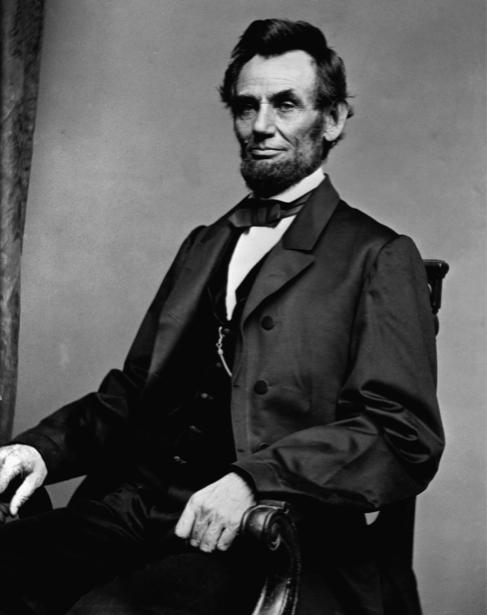 Авраам Линкольн, 16 американский президент (retro-vintage-0000347)