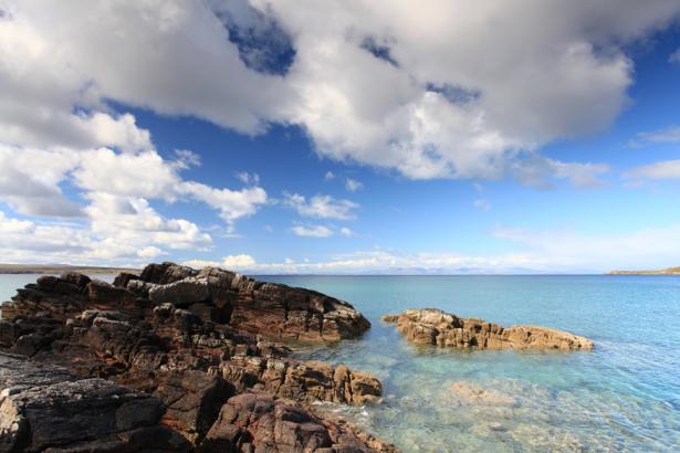 Фотообои море берег облака (sea-0000216)