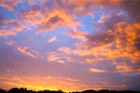 Фотообои вечерний закат небо (sky-0000084)